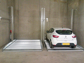 Parking system Storeparker with HyperFlow technology
